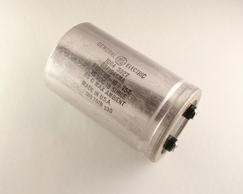 Picture of 86F194GMA GENERAL ELECTRIC capacitor 51,000uF 15V Aluminum Electrolytic Large Can Computer Grade