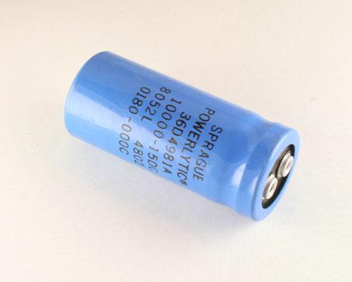 Sprague capacitor 1500 uf 15 vdc