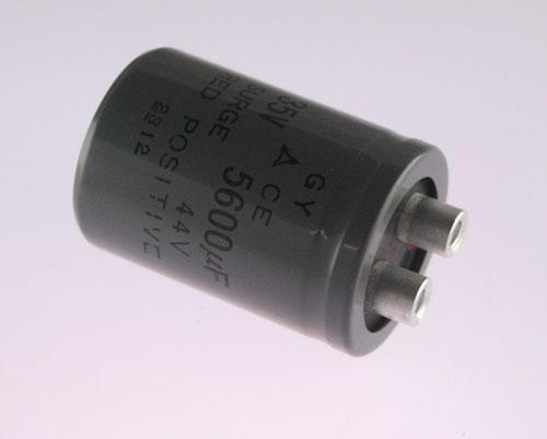 Picture of ECEG1VU562A PANASONIC capacitor 5,600uF 35V Aluminum Electrolytic Large Can Computer Grade