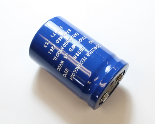 Picture of FA0253G035DD1L CAPACITOR TECHNOLOGY capacitor 25,000uF 35V Aluminum Electrolytic Large Can Computer Grade