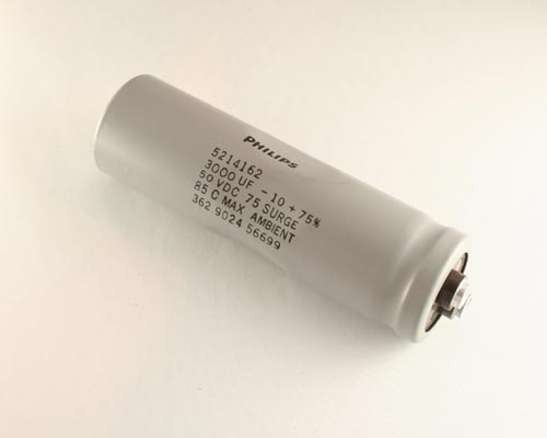 Picture of 3188BF302U050APA2 MEPCO capacitor 3,000uF 50V Aluminum Electrolytic Large Can Computer Grade