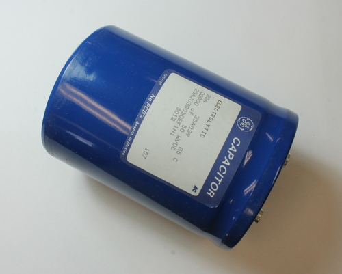 Picture of 23A203G050EF1H1 GENERAL ELECTRIC capacitor 20,000uF 50V Aluminum Electrolytic Large Can Computer Grade