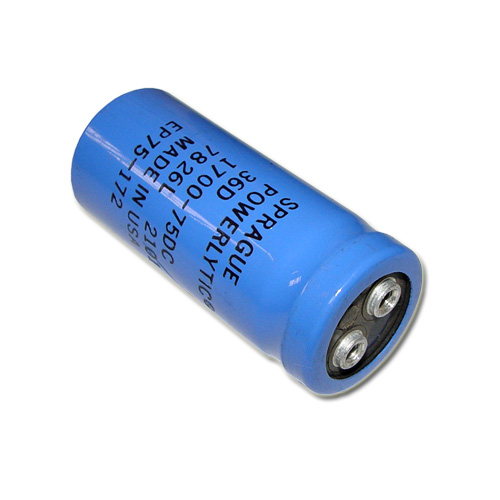 Picture of 36D172G075AB2A SPRAGUE capacitor 1,700uF 75V Aluminum Electrolytic Large Can Computer Grade