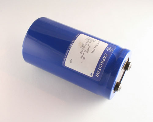 Picture of 23B123G075EG1H2 GENERAL ELECTRIC capacitor 12,000uF 75V Aluminum Electrolytic Large Can Computer Grade