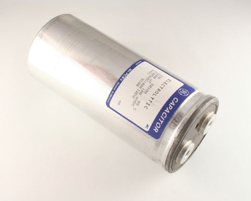 Picture of 23B562G100EI0D2 GENERAL ELECTRIC capacitor 5,600uF 100V Aluminum Electrolytic Large Can Computer Grade