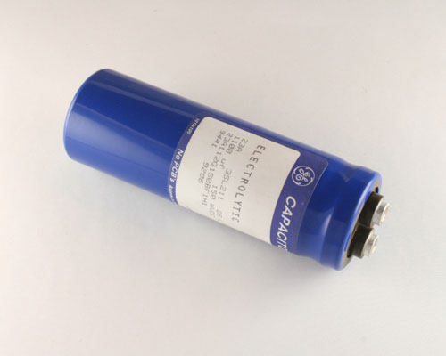 Picture of 23A112G150BF1H1 GE capacitor 1,100uF 150V Aluminum Electrolytic Large Can Computer Grade