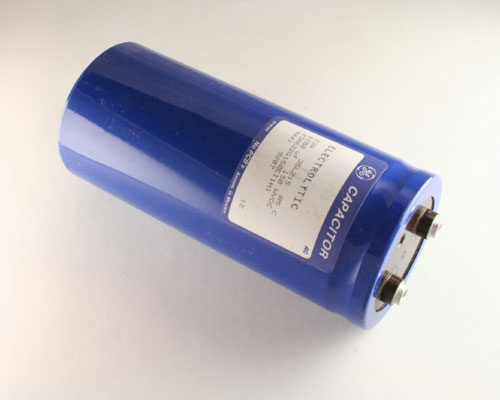 Picture of 23A622G150EI1H1 GENERAL ELECTRIC capacitor 6,200uF 150V Aluminum Electrolytic Large Can Computer Grade
