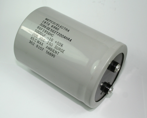 5000uf 200v Large Can Power Electrolytic Aluminum Computer