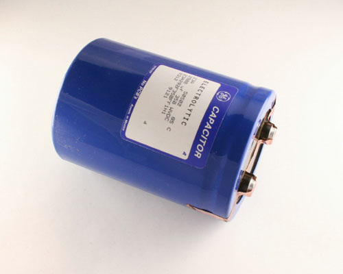Picture of 23A292F350FF1H1 GENERAL ELECTRIC capacitor 2,900uF 350V Aluminum Electrolytic Large Can Computer Grade