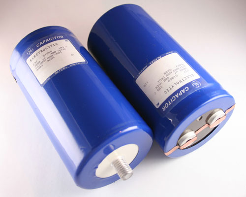 Picture of 23J302F400FI6DI GE capacitor 3,000uF 400V Aluminum Electrolytic Large Can Computer Grade High Temp