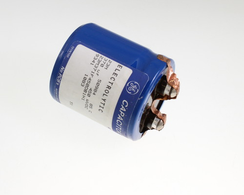Picture of 23M371F450DB1H1 GENERAL ELECTRIC capacitor 370uF 450V Aluminum Electrolytic Large Can Computer Grade
