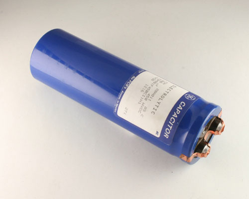 Picture of 23H981F450CI1H1 GE capacitor 980uF 450V Aluminum Electrolytic Large Can Computer Grade