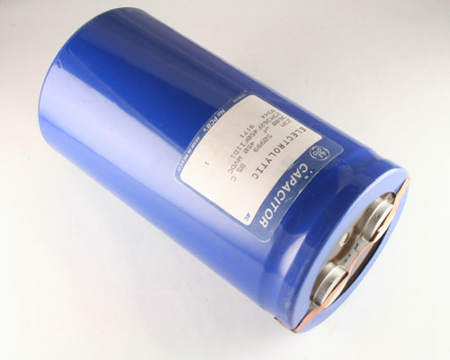 Picture of 23M362F450FI1D1 GENERAL ELECTRIC capacitor 3,600uF 450V Aluminum Electrolytic Large Can Computer Grade