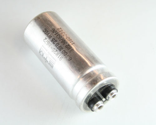 Picture of 91M25HP672 STM capacitor 6,700uF 25V Aluminum Electrolytic Large Can Computer Grade