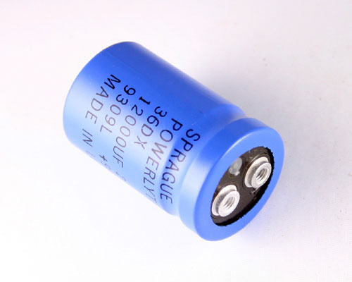 Picture of 36DX123F025AA2A SPRAGUE capacitor 12,000uF 25V Aluminum Electrolytic Large Can Computer Grade