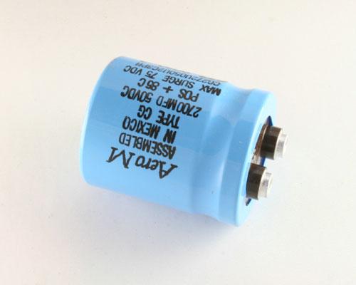 Picture of CG272U050U2C3PH AERO-M capacitor 2,700uF 50V Aluminum Electrolytic Large Can Computer Grade