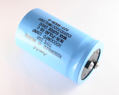 Picture of CGR803U003W4C3NH AERO-M capacitor 80,000uF 3V Aluminum Electrolytic Large Can Computer Grade