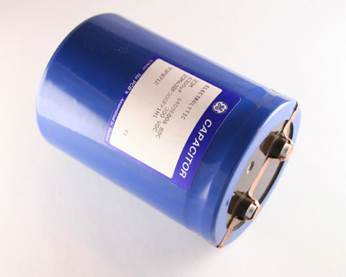 Picture of 23M632F300FF1H1 GE capacitor 6,300uF 300V Aluminum Electrolytic Large Can Computer Grade