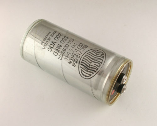 Picture of CE71C551N SANGAMO capacitor 550uF 300V Aluminum Electrolytic Large Can Computer Grade