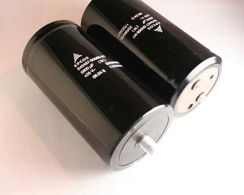 Picture of B43457-S0568-M1 EPCOS capacitor 5,600uF 425V Aluminum Electrolytic Large Can Computer Grade