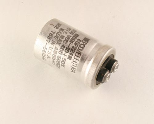 Picture of 86F224M PHILIPS capacitor 120uF 350V Aluminum Electrolytic Large Can Computer Grade