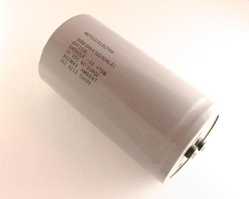 Picture of 3186GH643U030ALA1 PHILIPS capacitor 64,000uF 30V Aluminum Electrolytic Large Can Computer Grade