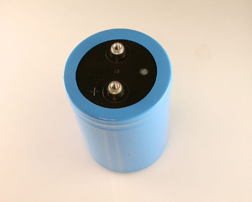 Picture of DCMX423U090CF2A Cornell Dubilier (CDE) capacitor 42,000uF 90V Aluminum Electrolytic Large Can Computer Grade