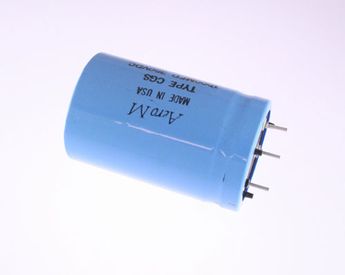 Picture of CGS102T350V3C3PV AERO-M capacitor 1,000uF 350V Aluminum Electrolytic Large Can Computer Grade