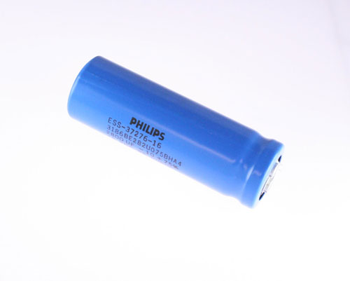 Picture of 3186BE282UO75BHA4 PHILIPS capacitor 2,800uF 75V Aluminum Electrolytic Large Can Computer Grade