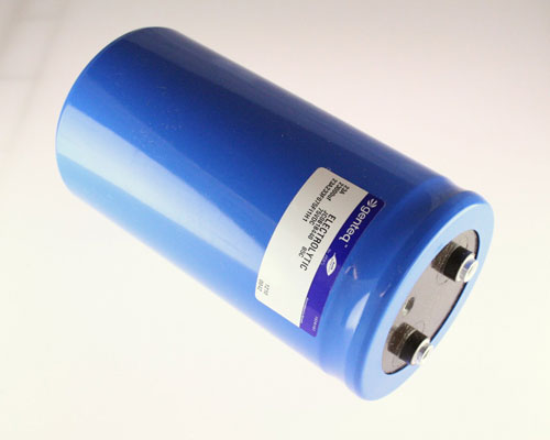 Picture of 23A233F075FI1H1 GENERAL ELECTRIC capacitor 23,000uF 75V Aluminum Electrolytic Large Can Computer Grade