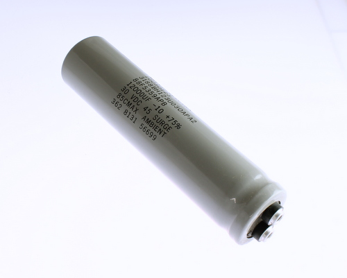 Picture of 3188BH123U030APA2 MEPCO capacitor 12,000uF 30V Aluminum Electrolytic Large Can Computer Grade