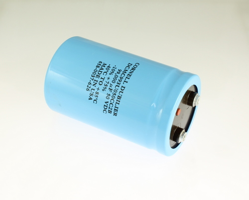 Picture of DCM993U050CC2B CDE capacitor 99,000uF 50V Aluminum Electrolytic Large Can Computer Grade