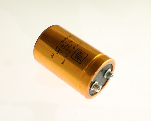Picture of LEYP01EJ447L02 VISHAY capacitor 4,700uF 100V Aluminum Electrolytic Large Can Computer Grade