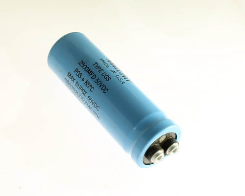 Picture of CGS252U050R4C3PH MALLORY capacitor 2,500uF 50V Aluminum Electrolytic Large Can Computer Grade