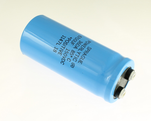 Picture of 36DA672F150AC2A SPRAGUE capacitor 6,700uF 150V Aluminum Electrolytic Large Can Computer Grade