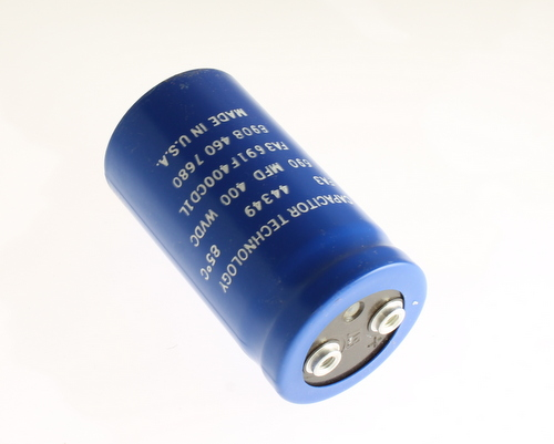 Picture of FA3691F400CD1L CAPACITOR TECHNOLOGY capacitor 690uF 400V Aluminum Electrolytic Large Can Computer Grade