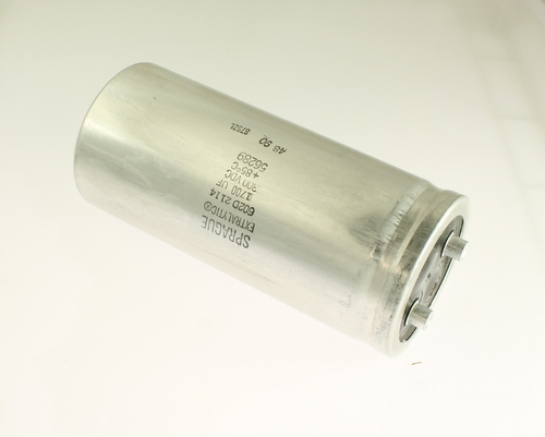 Picture of 602D172F300CF2A SPRAGUE capacitor 1,700uF 300V Aluminum Electrolytic Large Can Computer Grade