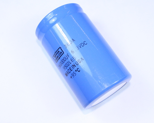 Picture of 36DA564F6R3CC2A UNITED CHEMICON capacitor 560,000uF 6.3V Aluminum Electrolytic Large Can Computer Grade High Temp