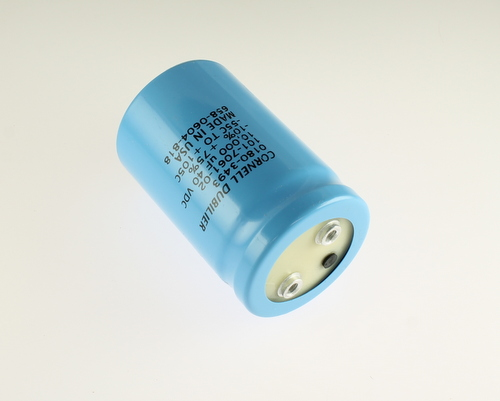 Picture of 101-7061-02 Cornell Dubilier (CDE) capacitor 10,000uF 40V Aluminum Electrolytic Large Can Computer Grade