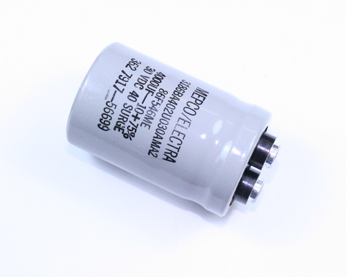 Picture of 3186BA402U030AMA2 PHILIPS capacitor 4,000uF 30V Aluminum Electrolytic Large Can Computer Grade