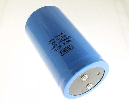 Picture of 36DX202F450DF2A UCC capacitor 2,000uF 450V Aluminum Electrolytic Large Can Computer Grade