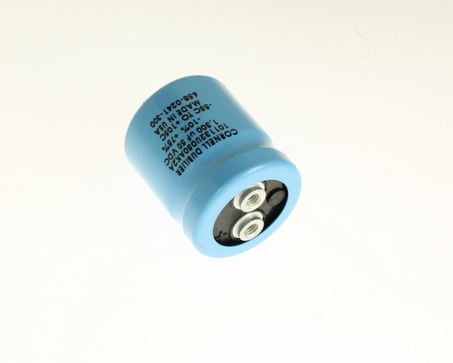 Picture of 101132U050AK2A Cornell Dubilier (CDE) capacitor 1,300uF 50V Aluminum Electrolytic Large Can Computer Grade
