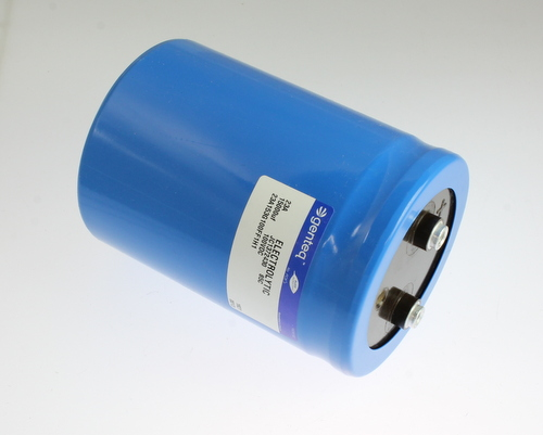 Picture of 23A153G100FF1H1 GENTEQ capacitor 15,000uF 100V aluminum electrolytic large can computer grade