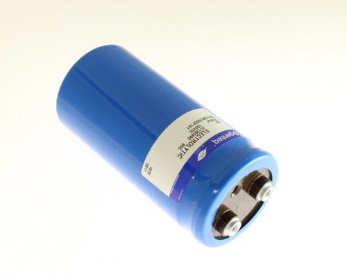 Picture of 23A153G100DF1H1 GENTEQ capacitor 15,000uF 100V Aluminum Electrolytic Large Can Computer Grade