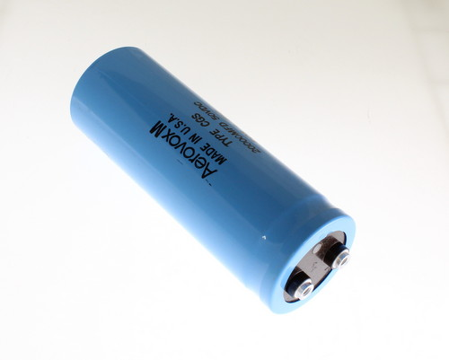 1x 20000uF 50V Large Can Electrolytic Capacitor 20000mfd 50VDC 20,000 uF 85C