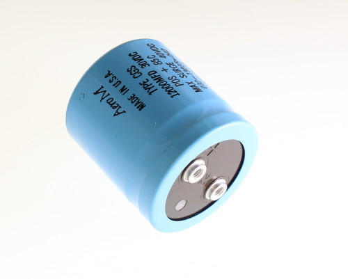 Picture of CGS123U030V2C AERO-M capacitor 12,000uF 30V Aluminum Electrolytic Large Can Computer Grade