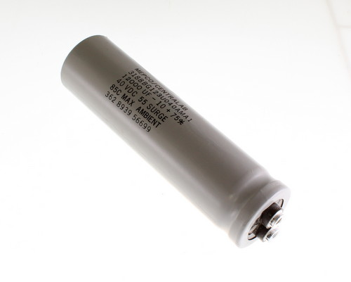 Picture of 3188BG123U040AMA1 MEPCO capacitor 12,000uF 40V Aluminum Electrolytic Large Can Computer Grade