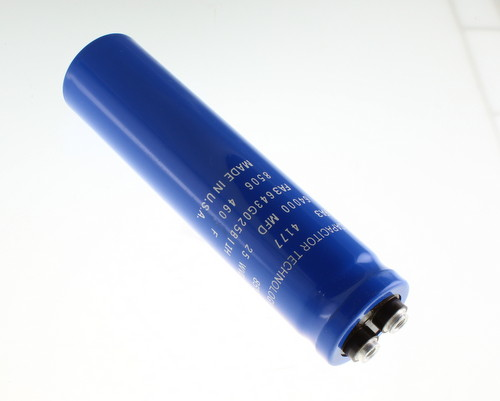 Picture of FA3643G025BI1H CAPACITOR TECHNOLOGY capacitor 64,000uF 25V Aluminum Electrolytic Large Can Computer Grade