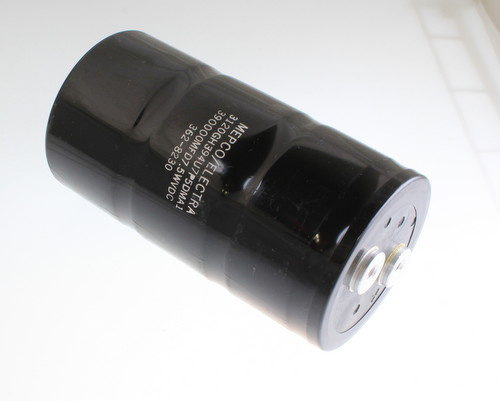 Picture of 3120GH394U7P5DMA1 PHILIPS capacitor 390,000uF 7.5V Aluminum Electrolytic Large Can Computer Grade