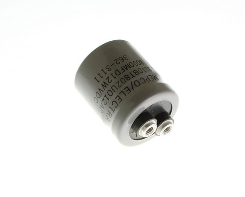 Picture of 3110BT802U012AP MEPCO capacitor 8,000uF 12V Aluminum Electrolytic Large Can Computer Grade